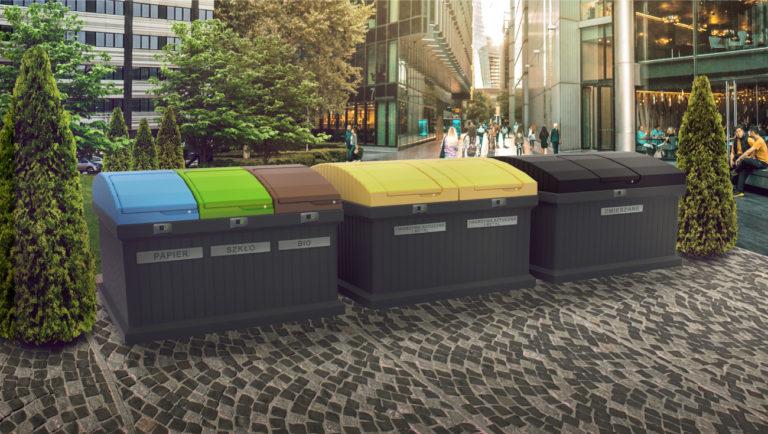 Po co właściwie stosuje się publiczne pojemniki na śmieci