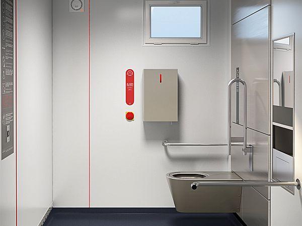 Zaleta instalowania samoczyszczących się toalet publicznych